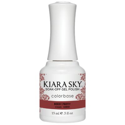 Kiara Sky All In One Gel Nail Polish - G5052 BERRY PRETTY G5052