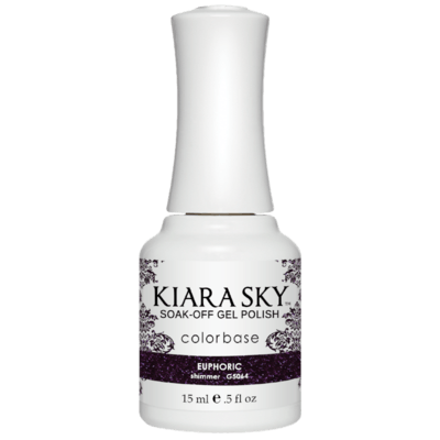 Kiara Sky All In One Gel Nail Polish - G5064 EUPHORIC G5064