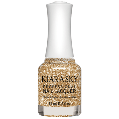 Kiara Sky All In One Nail Polish - N5025 CHAMPAGNE TOAST N5025