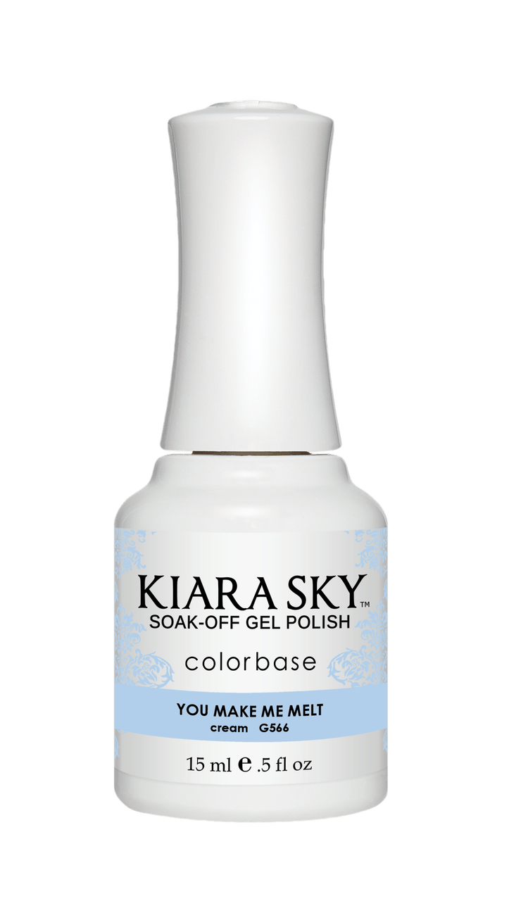 Kiara Sky Gel Nail Polish - G566 YOU MAKE ME MELT G566