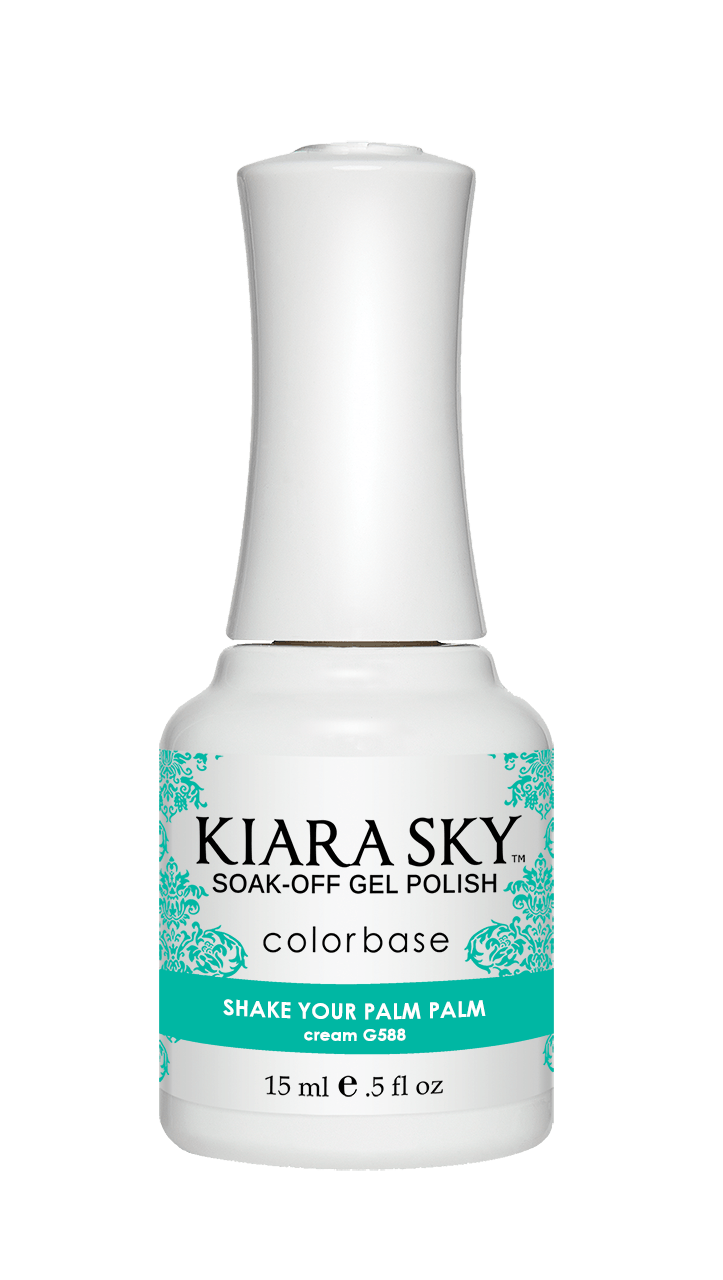 Kiara Sky Gel Nail Polish - G588 SHAKE YOUR PALM PALM G588
