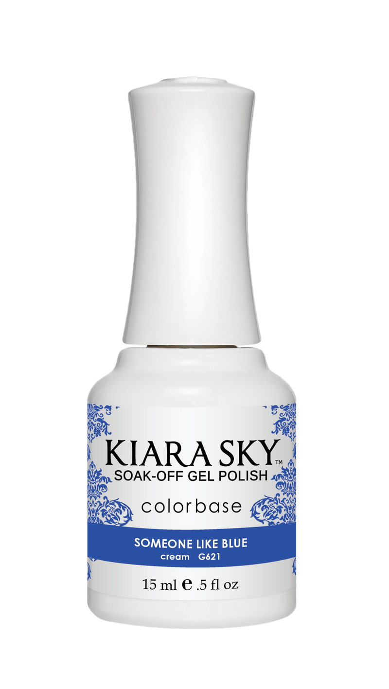Kiara Sky Gel Nail Polish - G621 SOMEONE LIKE BLUE G621