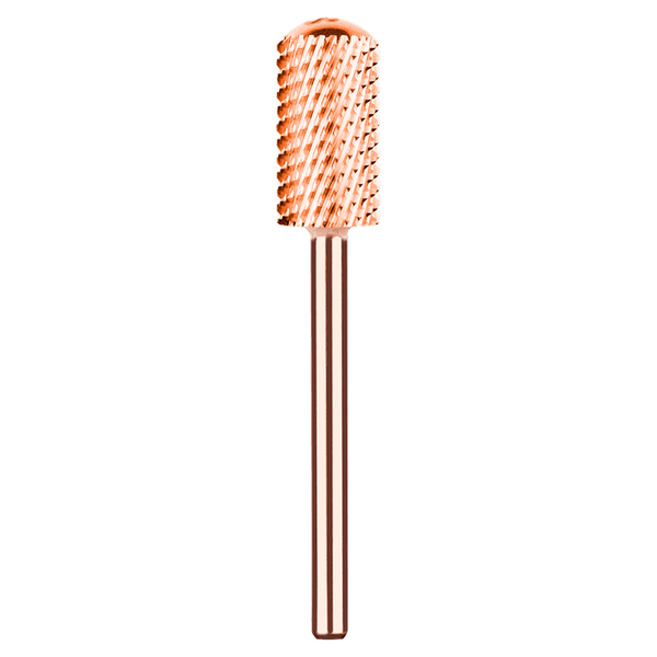 Kiara Sky Nail Drill Bit - Large Smooth Top Coarse Bit (Rose Gold) BIT18RG