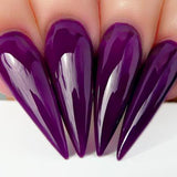 Kiara Sky Nail Lacquer - N445 GRAPE YOUR ATTENTION N445