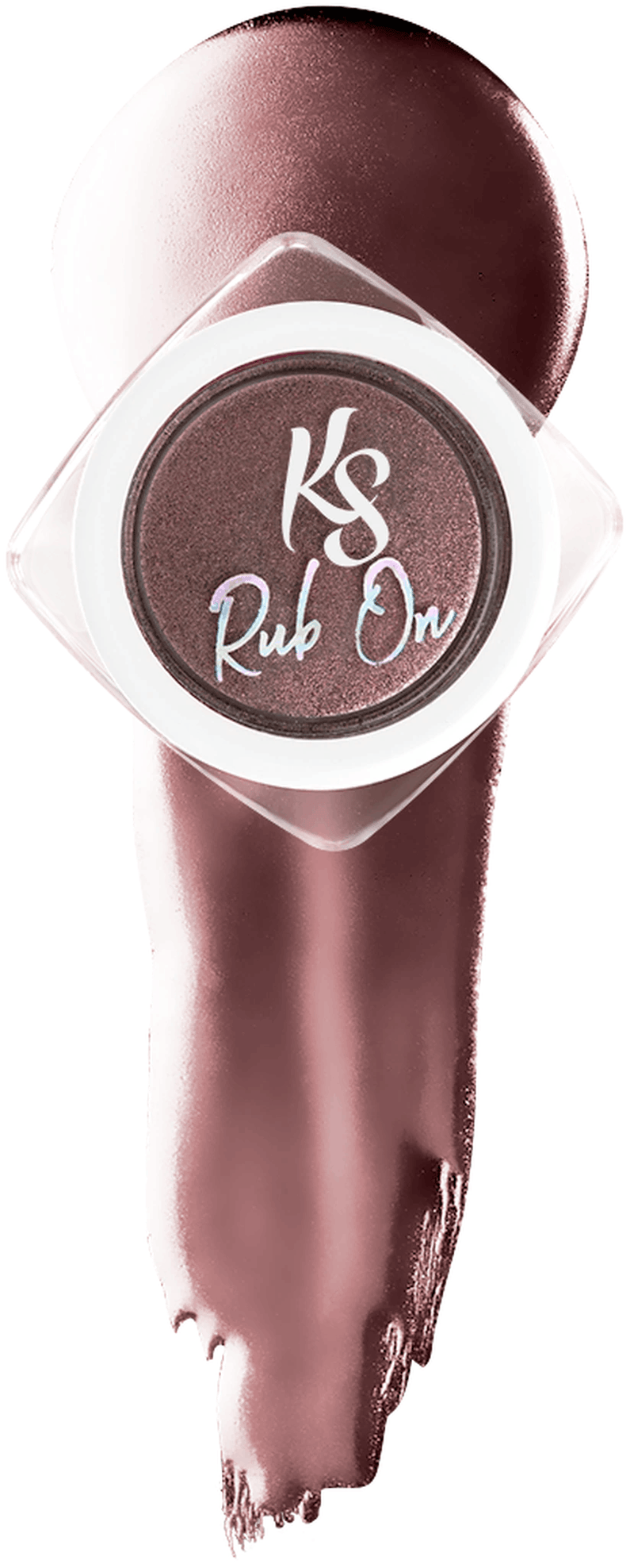 Kiara Sky Rub On Color Powder - Chrome - ROSE GOLD KSRORG