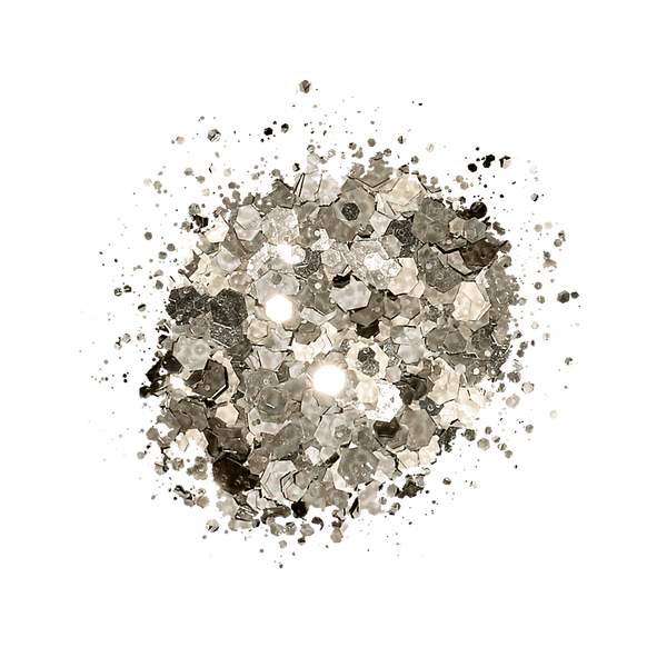 Kiara Sky Sprinkle On Glitter - SP201 BLACK ICE SP201