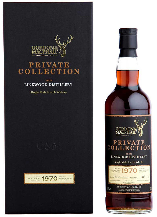 G&M Private Collection Linkwood 1970 ABV: 45%