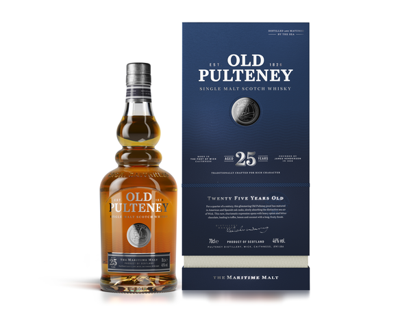 Old Pulteney 25yr old ABV: 46%