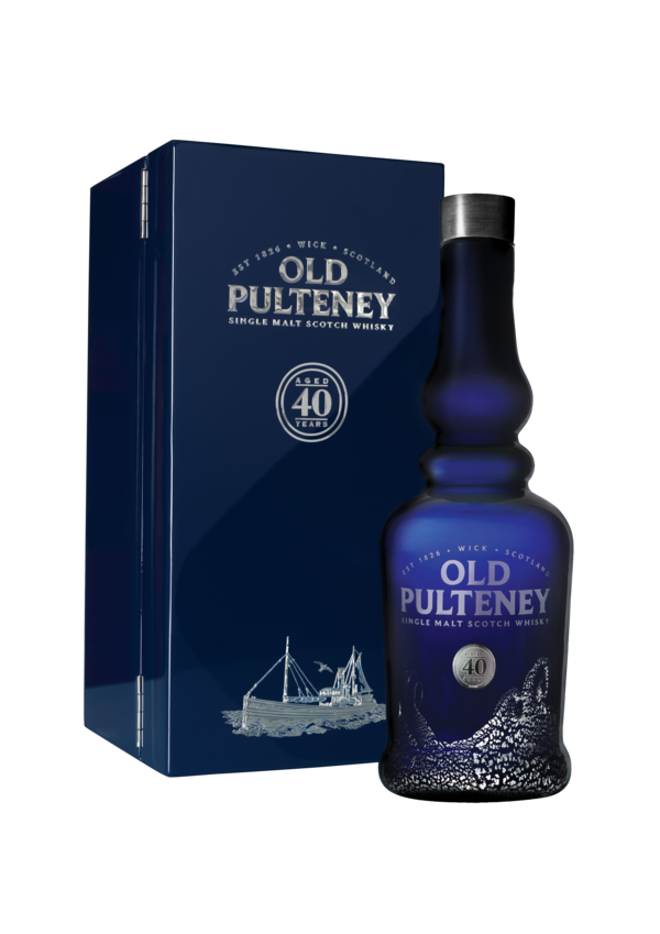 Old Pulteney 40yr old ABV: 51.3%