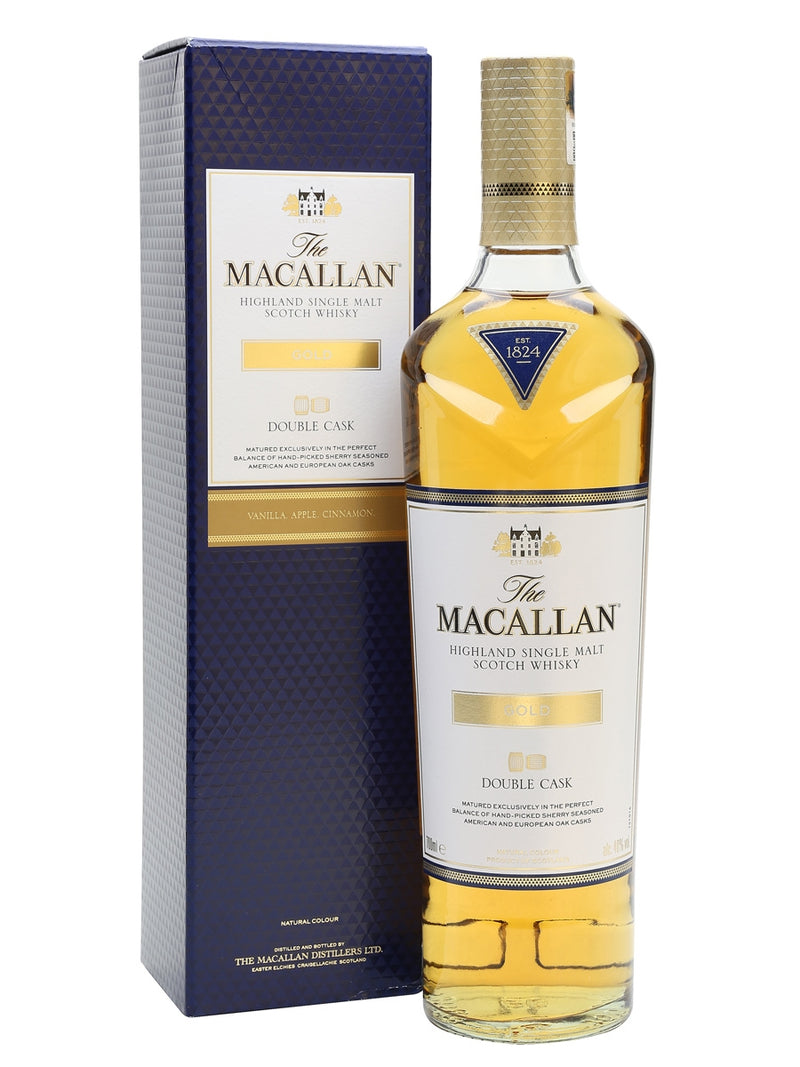 Macallan Gold  Double Cask ABV: 40%