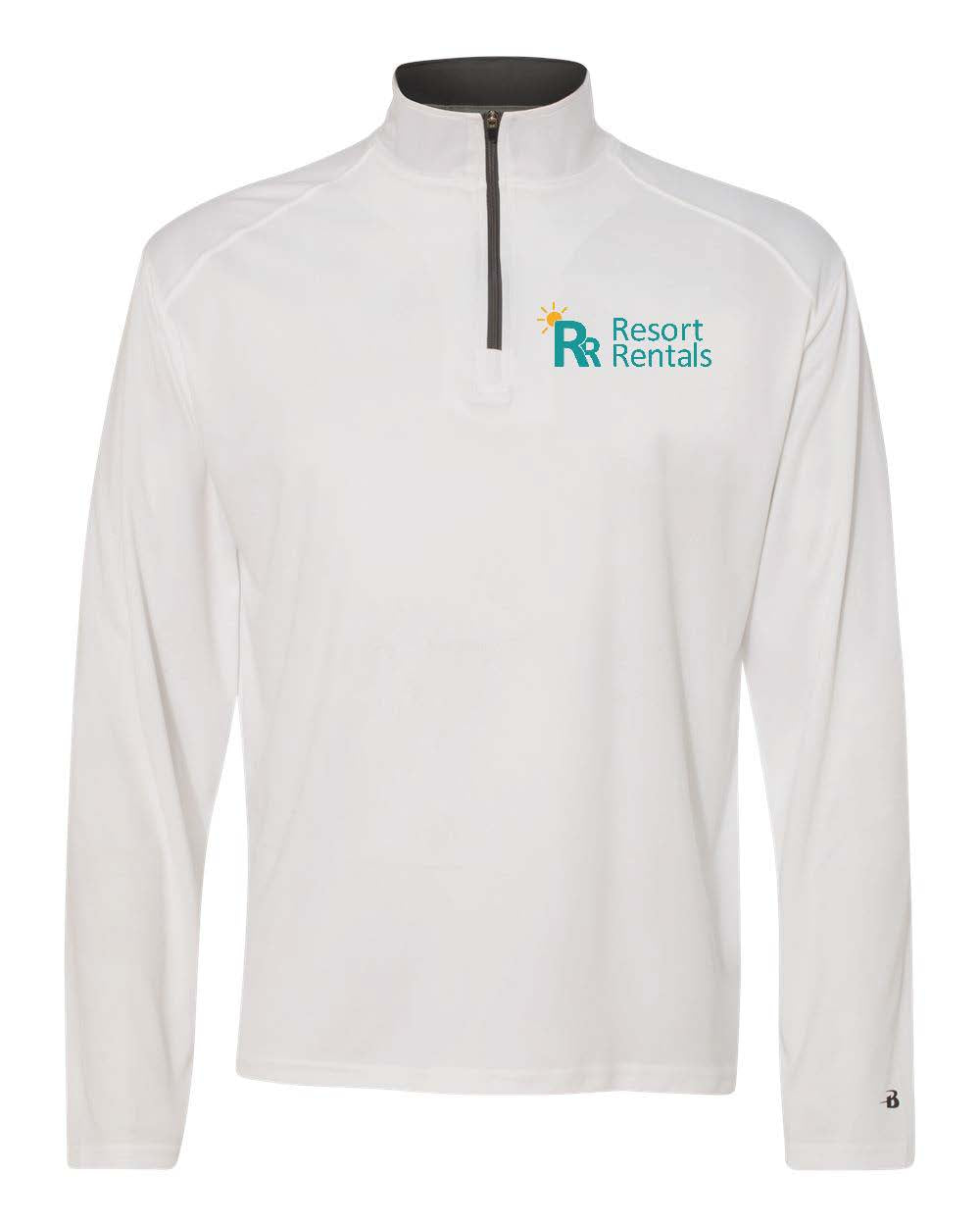 Resort Rentals - 1/4 Zip Men's Pullover