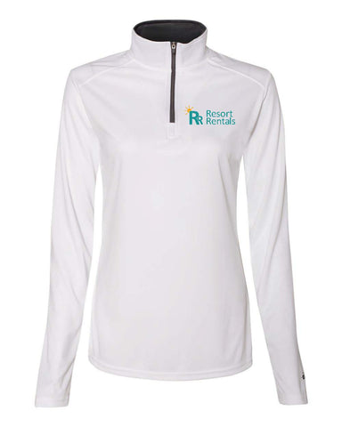 Resort Rentals - Ladies' 1/4 Zip Pullover