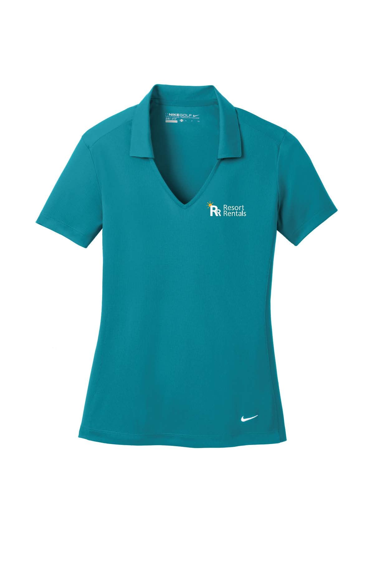 Resort Rentals Ladies Nike Manager Polo