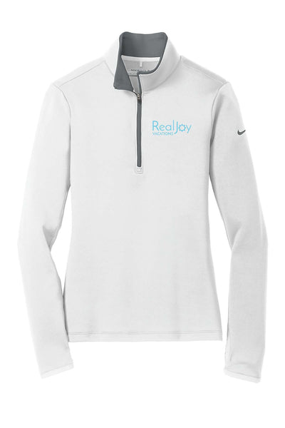 RealJoy Vacations Nike Ladies Dri-Fit Stretch 1/2 Zip Jacket