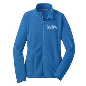 REALJOY VACATIONS LADIES FULL ZIP FLEECE