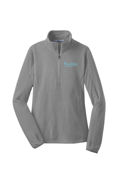 RealJoy Vacations Ladies' Microfleece 1/2 Zip