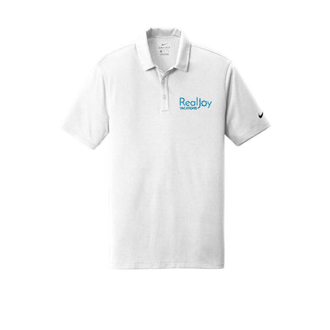 RealJoy Vacations  Nike Textured Polo