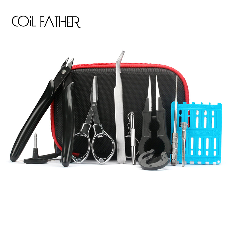 Coil Father X9 Tool Kit - 9 Essential Vape DIY Tools in 1