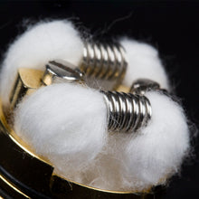 Load image into Gallery viewer, Coil Father MTL Coils (100pcs) Ni80 A1 SS316L 22-28ga