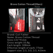Load image into Gallery viewer, Coil Father Bravo Cotton Threads