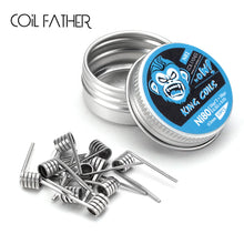 Load image into Gallery viewer, Coil Father King Coils (Ni80 Ni90) Premium Build with Pure Taste