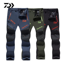 Load image into Gallery viewer, 2020 Spring Autumn Daiwa Fishing Pants Breathable Outdoor Hiking Camping Trouser Sun Protection Nylon Waterproof Quick Dry Pants