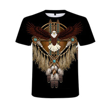 Load image into Gallery viewer, 2020 New 3D heavy metal skull t-shirt Punk festival rock t shirt Men Printed Casual Tshirt O Neck Hip Hop Short Sleeve Plus-Size
