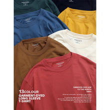 Load image into Gallery viewer, SIMWOOD 2020 Autumn new long sleeve t shirt men solid color 100% cotton o-neck tops plus size high quality t-shirt  SJ150278