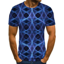Load image into Gallery viewer, Summer Three-dimensional 3D vortex T-shirt Men Women Fashion 3D T Shirt Short Sleeve Harajuku Hip Hop Cute Tshirt