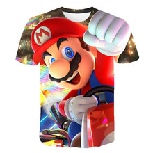 Load image into Gallery viewer, Classic Cartoon Mario 3D T-shirt New Harajuku style Classic Game Mario Bros kids clothes Mario Boys Clothes Street T-shirt
