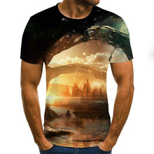 Load image into Gallery viewer, 2020 3D Funny T Shirt Men Clothing Psychedelic Print Casual Short Sleeve T Shirt Mens Streetwear t shirt men