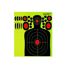 Load image into Gallery viewer, 10 Pcs Lot Splash Flower Target 8-Inch Adhesive Reactivity Shoot Target Aim For Gun Rifle Pistol Binders For Rifle Shoot Target