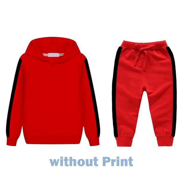 Children's Clothing Sets for Boys Girls Clothes 2 To 8 Years Autumn Winter Children Tracksuits Kids Outfit Suit Hoodie+Pant Sets