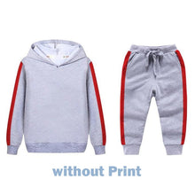 Load image into Gallery viewer, Children's Clothing Sets for Boys Girls Clothes 2 To 8 Years Autumn Winter Children Tracksuits Kids Outfit Suit Hoodie+Pant Sets