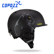 Load image into Gallery viewer, COPOZZ New Unisex Ski Helmet Certificate Half-covered Anti-impact Skiing Helmet For Adult and Kids Ski Snowboard safety Helmet