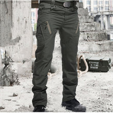 Load image into Gallery viewer, City Military Tactical Pants Men SWAT Combat Army Trousers Many Pockets Waterproof  Wear Resistant Casual Cargo Pants Men 2021