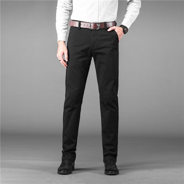 Wedding Dress 2021 Brand New Suit Pants Male Good Quality Mens Dress Pants Straight Office Male Trousers Plus Size 40 42 44 46