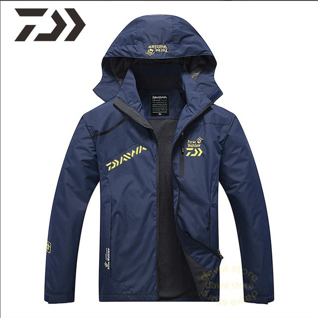 Fishing Suit Men Spring Autumn Thin Fishing Clothing Hooded Sports Hiking Fishing Jacket Outdoor Clothes Fishing Wear