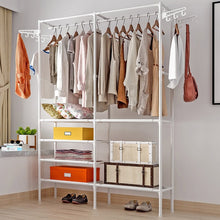 Load image into Gallery viewer, COSTWAY Clothes Hanger Coat Rack Floor Hanger Storage Wardrobe Clothing Drying Racks porte manteau kledingrek perchero de pie