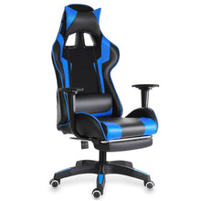 Load image into Gallery viewer, Computer Office Chair Gaming Home Leather Executive Swivel Gamer Chair Lifting Rotatable Armchair Footrest Adjustable Desk Chair