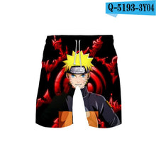 Load image into Gallery viewer, Anime Akatsuki Red Cloud Mens Swimwear Swim Shorts Trunks Beach Board Shorts Swimming short Pants Swimsuits Mens Running shorts