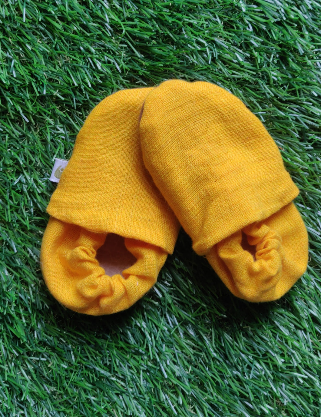 Klingaru Socks Shoes -  Yellow