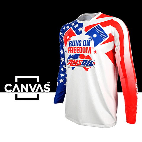 Amsoil Runs On Freedom Jersey