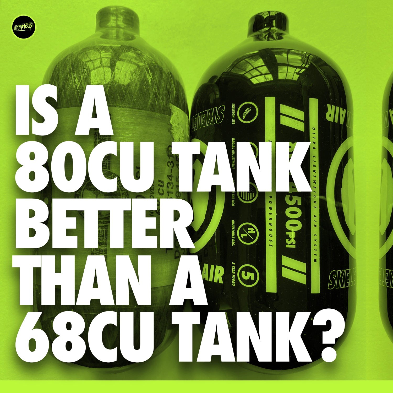 Is a 80cu Tank Better than a 68cu Tank?