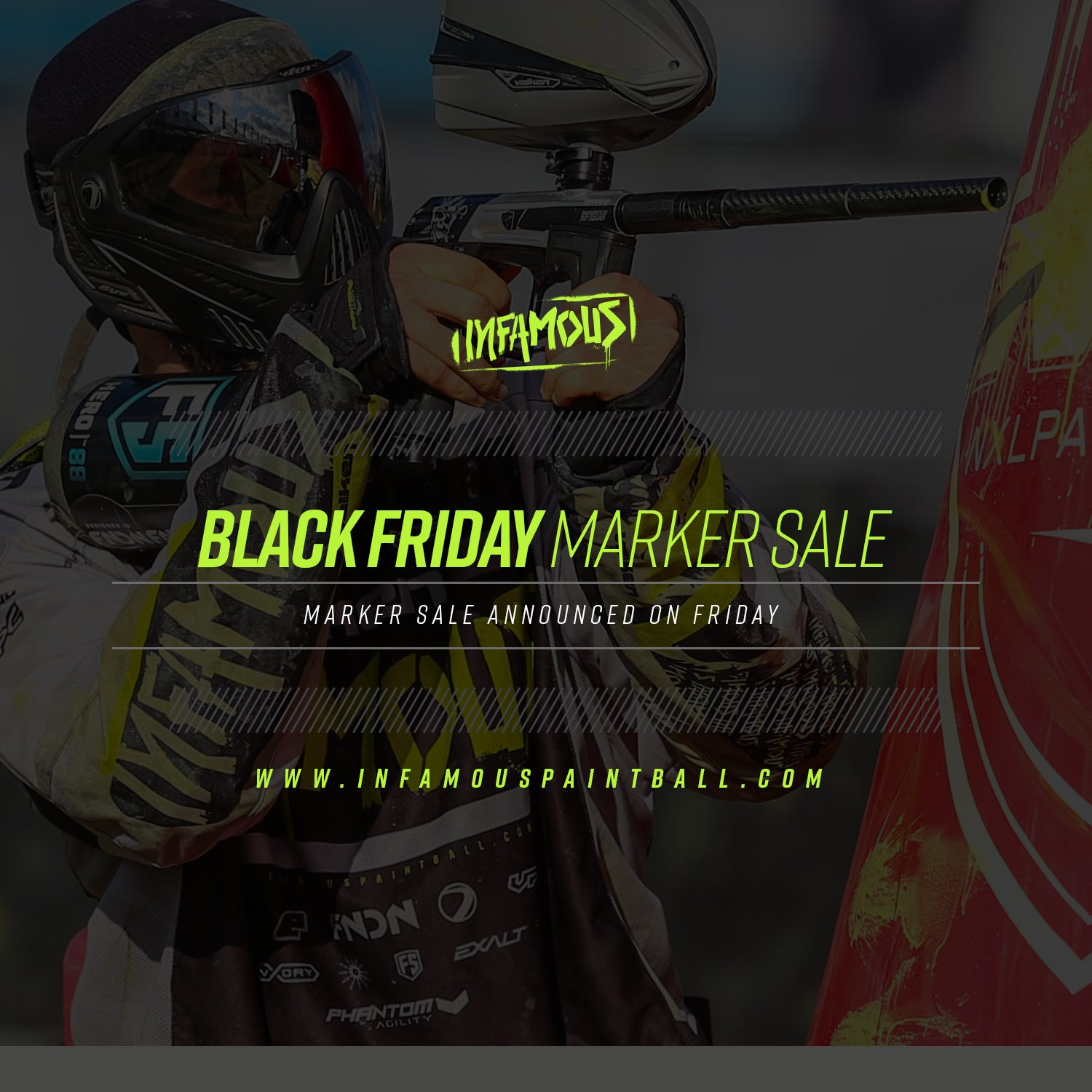 Black Friday Paintball Marker Sale - Infamous