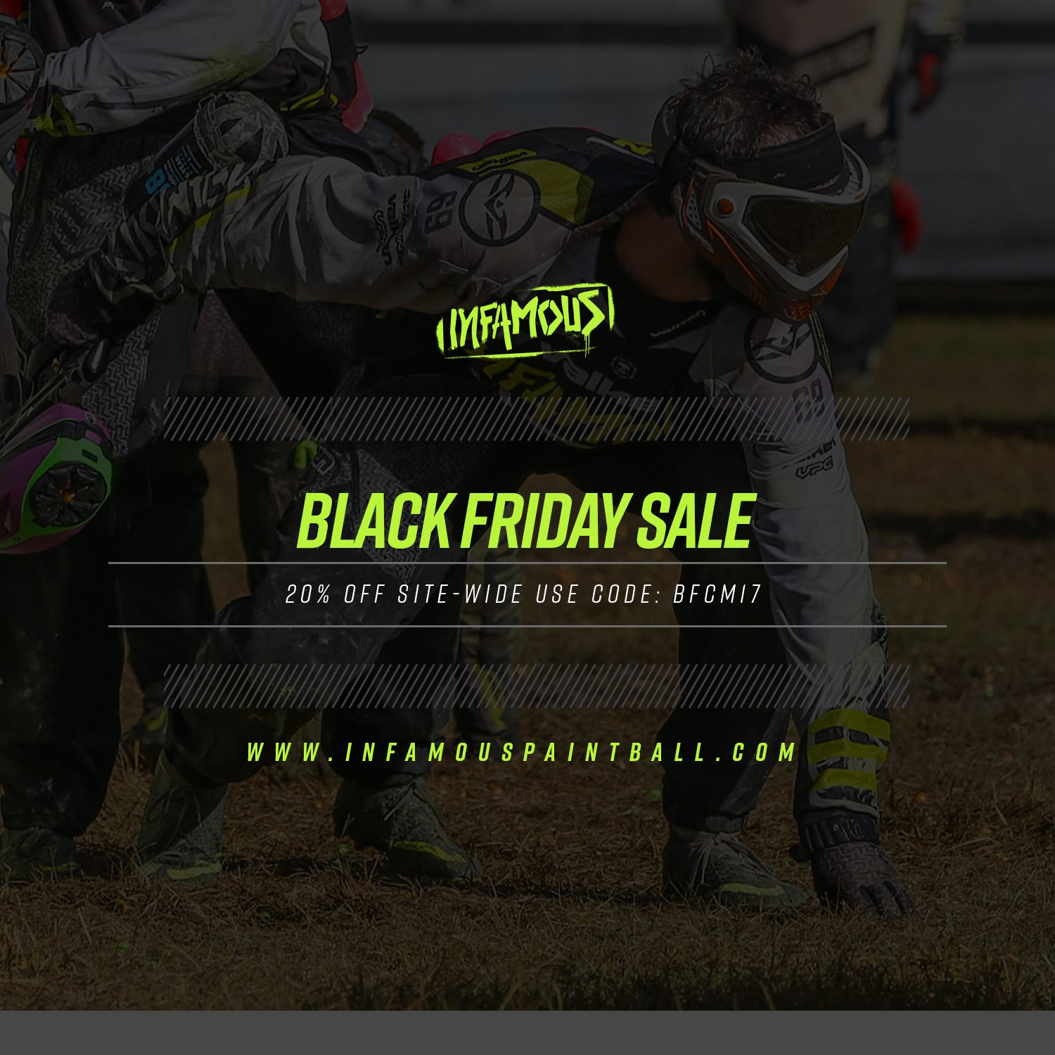 Black Friday Paintball Sales With Infamous