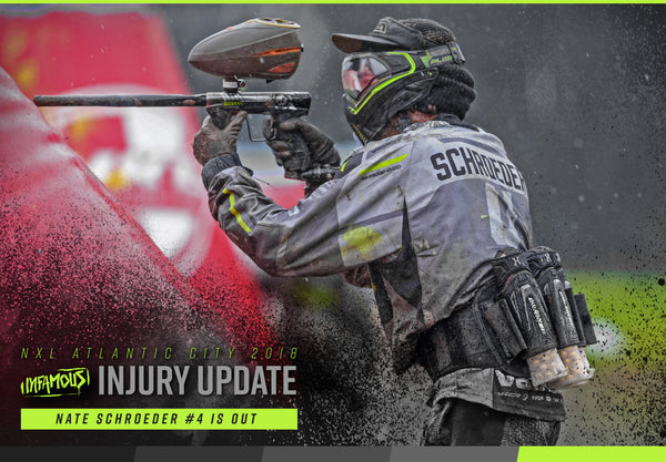 Nate Schroeder OUT with Injury