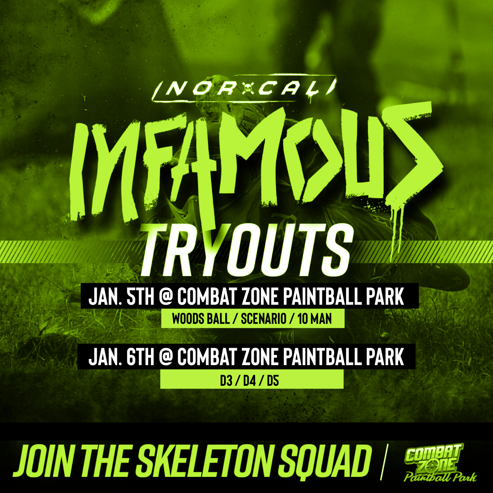 NOR-CAL Infamous Tryouts