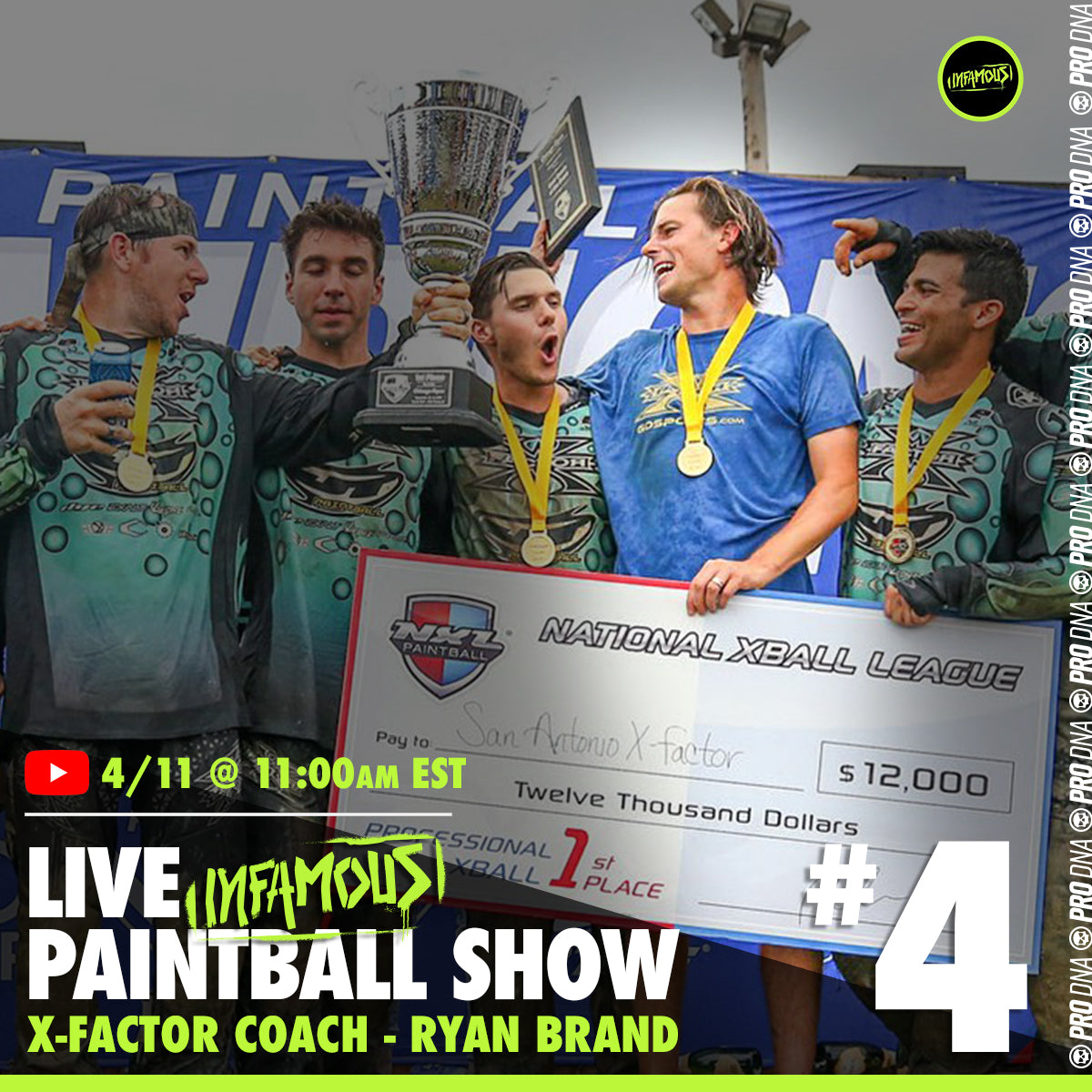 Infamous Live Paintball Show #4 - Ryan Brand
