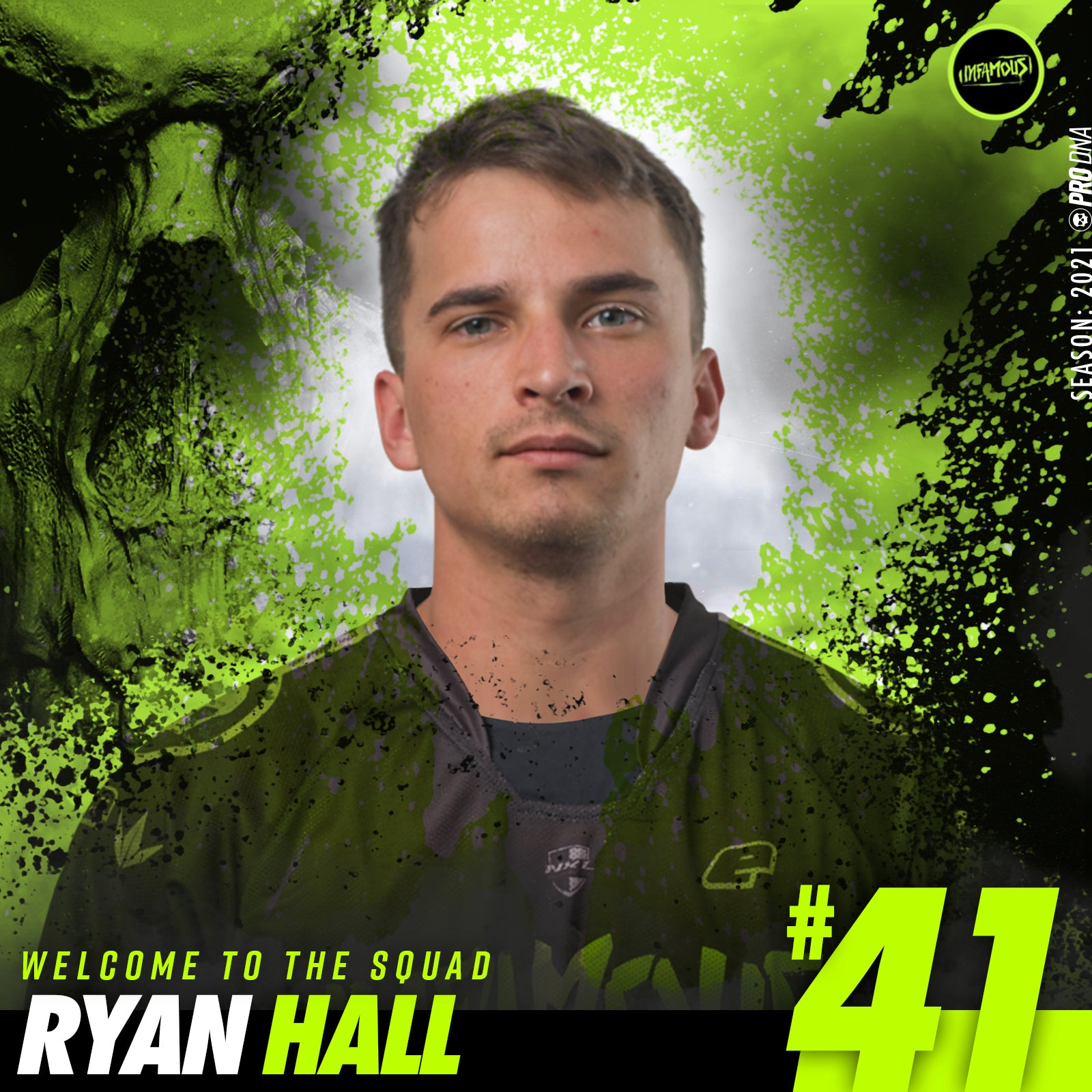 Ryan Hall Joins Infamous!